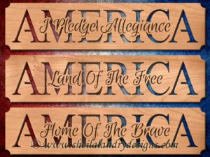 America Patriotic Scroll Saw Patterns