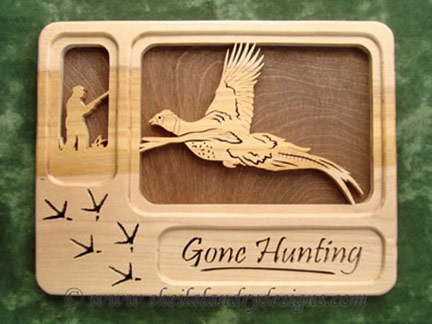 Pheasant Scroll Saw Hunting Pattern