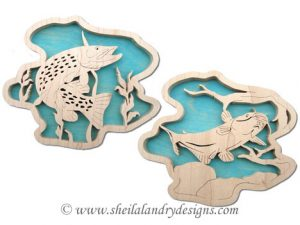 Pike & Catfish Scroll Saw Pattern