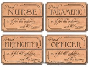 Proud Nurse Officer Scroll Saw Patterns