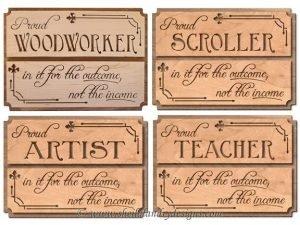 Proud Woodworker Scroll Saw Pattern