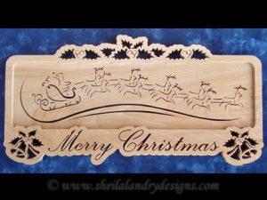 Santa Reindeer Scroll Saw Pattern