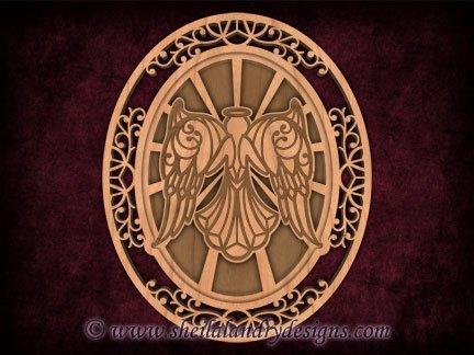 Scroll Saw Angel Pattern