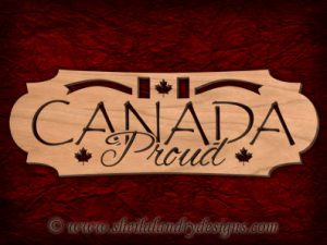 Scroll Saw Canada Pattern