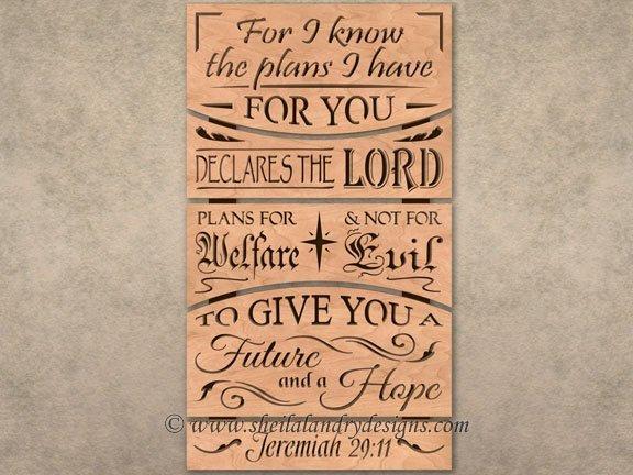 Scroll Saw Christian Pattern