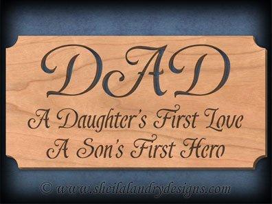 Scroll Saw Dad Pattern