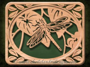 Scroll Saw Dragonfly Pattern