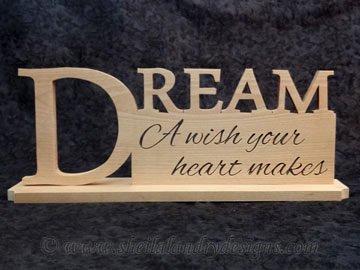 Scroll Saw Dream Pattern