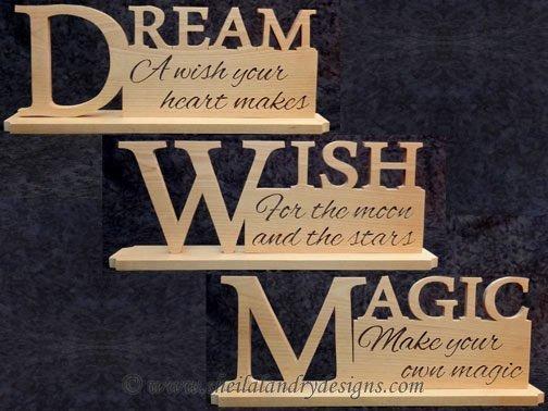 Scroll Saw Dream Wish Magic Pattern Set