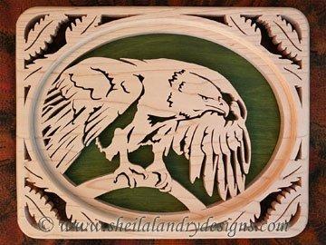 Scroll Saw Eagle Pattern