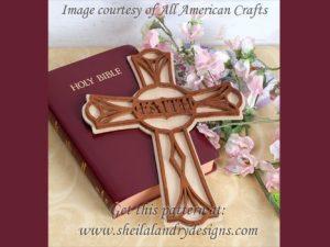 Scroll Saw Faith Cross Pattern