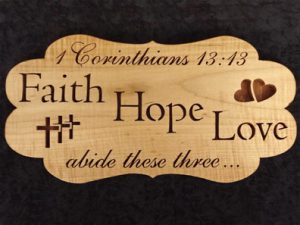 Scroll Saw Faith Hope Love Pattern