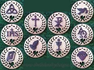 Scroll Saw Faith Ornaments Pattern