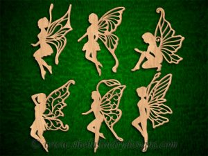 Scroll Saw Fairy Pattern