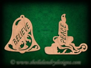 Scroll Saw Fretwork Christmas Ornaments