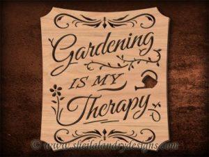 Scroll Saw Gardening Pattern