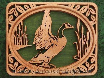 Scroll Saw Canada Goose Pattern