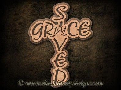 Scroll Saw Grace Cross Pattern