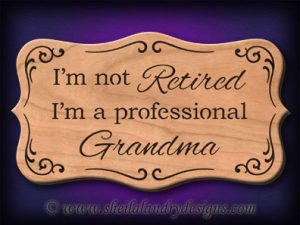 Scroll Saw Grandparents Pattern