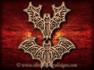 Scroll Saw Halloween Bats Pattern