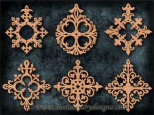 Scroll Saw Halloween Ornament Pattern