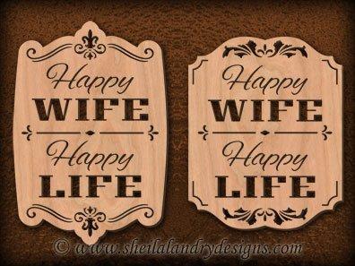 Scroll Saw Happy Wife Happy Life