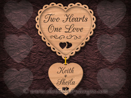 Scroll Saw Hearts Love Pattern