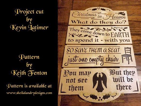 Scroll Saw Heaven Pattern