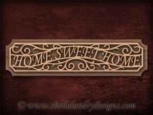 Scroll Saw Home Sweet Home