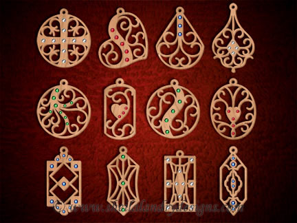 Scroll Saw Jewelry Pattern