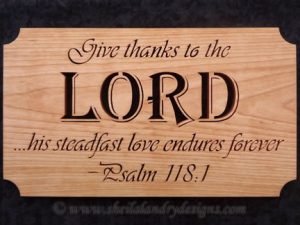 Scroll Saw Lord Bible Pattern