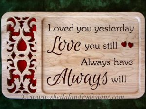Scroll Saw Love Always Pattern