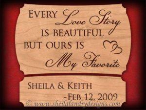 Scroll Saw Love Story Pattern