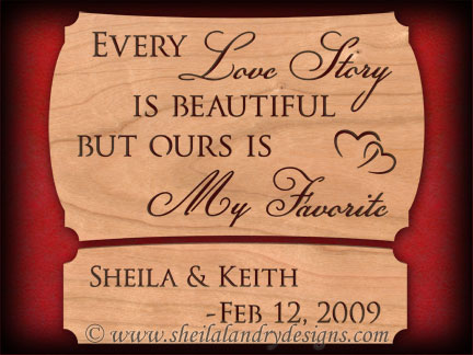 Scroll Saw Love Story Pattern