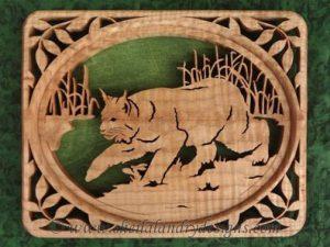 Scroll Saw Lynx Pattern