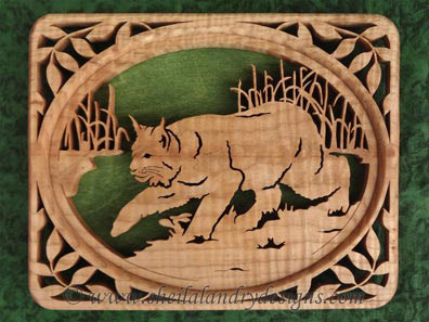 Scroll Saw Lynx Pattern