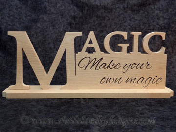 Scroll Saw Magic Pattern