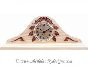 Scroll Saw Mantle Clock Pattern