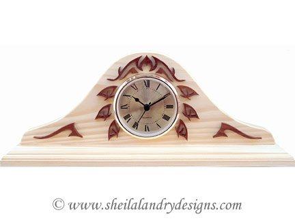 Scroll Saw Mantle Clock Pattern