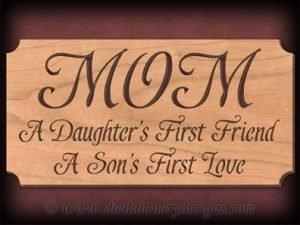 Scroll Saw Mom Pattern