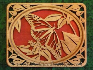Scroll Saw Monarch Butterfly Pattern