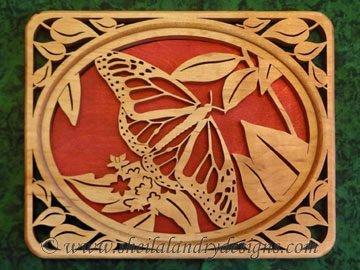 Scroll Saw Monarch Butterfly Pattern