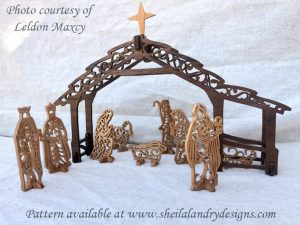 Scroll Saw Nativity Pattern
