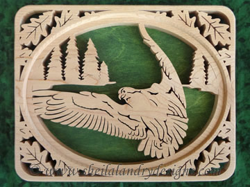 Scroll Saw Osprey Pattern