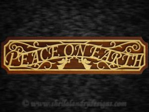 Scroll Saw Peace On Earth Pattern