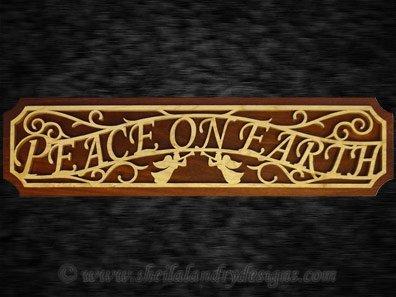 Scroll Saw Peace On Earth Pattern