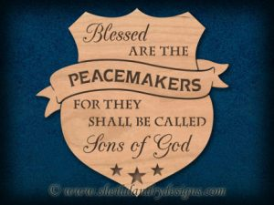 Scroll Saw Peacemakers Pattern