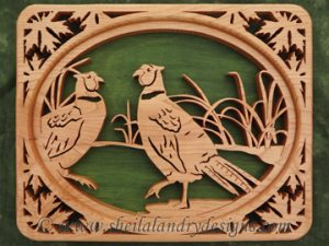 Scroll Saw Pheasant Pattern