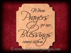 Scroll Saw Prayer & Blessings Pattern