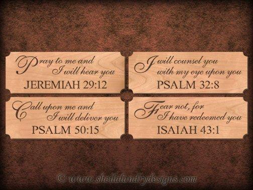 Scroll Saw Scriptures Pattern Set